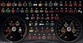 Не  лоханись : Полное описание спецзначков на приборной панели твоей машины