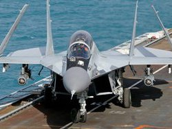 Как разбился Миг-29 при посадке на  Адмирала Кузнецова