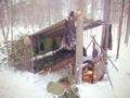 Укрытие и ночлег в зимнем лесу